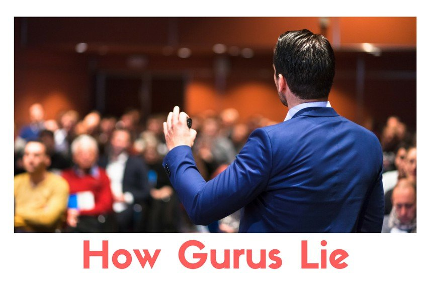 3 Min Read: How Gurus Lie